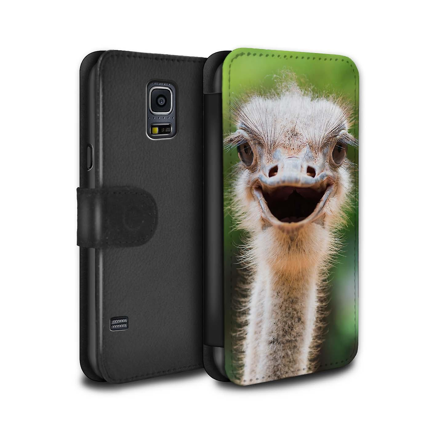 STUFF4 PU Leather Wallet Flip Case/Cover For Samsung