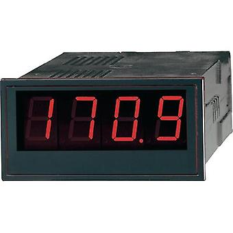 GMW DPM48/2000 SN20 Digital-Panel-Meter DPM 48/2000 SN 20 0.2 - 300 V/DC/1 - 200 Assembly dimensions DIN 92 mm x 45.5 mm