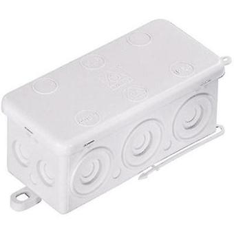 Wiska Wet-room junction boxes KA 6 Humid room cable junction boxes White IP54