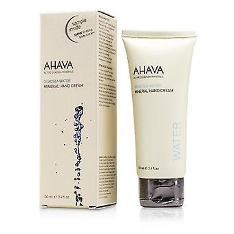 Ahava Deadsea Vatten Mineral Hand Cream 100ml / 3.4oz