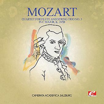 Mozart - Quartet for Flute & String Trio No. 3 in C Major K USA import