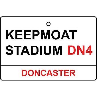 Doncaster / Keepmoat Stadium Street Sign Car Air Freshener