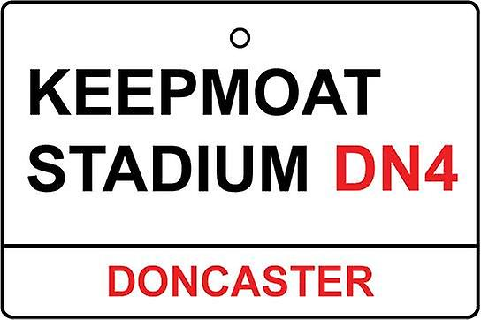 Doncaster / Keepmoat Stadium Street Logg bil Air Freshener