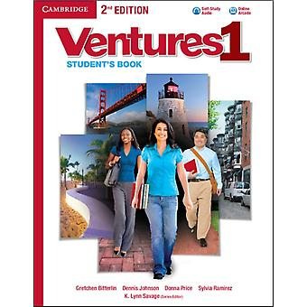 Ventures Level 1 Student's Book with Audio CD (Paperback) by Bitterlin Gretchen Johnson Dennis Price Donna Ramirez Sylvia Savage K. Lynn