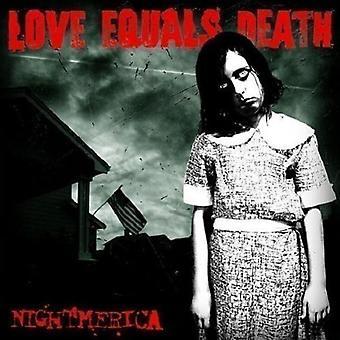 Love Equals Death - Nightmerica [Vinyl] USA import