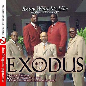 Exodus 4:12 - Know What It's Like (to Have God on Your Side) [CD] USA import