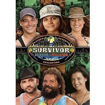 Overlevende - Survivor 20: Heroes vs Villians [DVD] USA import