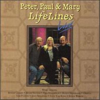 Peter Paul & Mary - Lifelines Live [CD] USA import