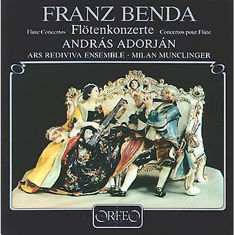 F. Benda - Benda: Importazione concerti per flauto [CD] Stati Uniti d'America