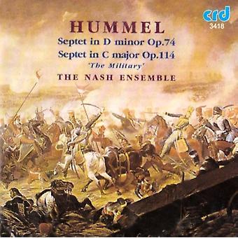 Nash Ensemble - Hummel: Septets-Nash da [CD] USA import