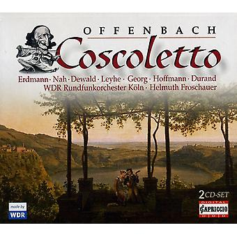 J. Offenbach - Offenbach: Coscoletto [CD] USA import
