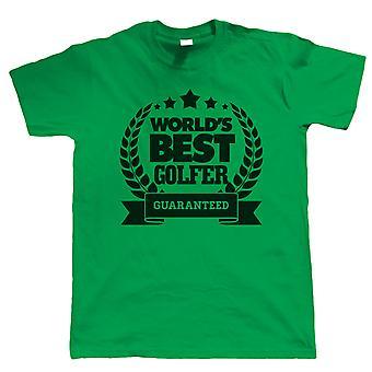 Vectorbomb, World's Best Golfer, Mens Golf T Shirt (S to 5XL)