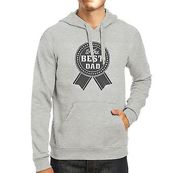To The Best Dad Grey Hoodie For Men Perfect Dad Birthday Gift Idea