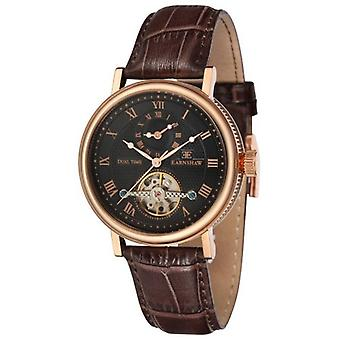 Thomas Earnshaw die Beaufort-Uhr - Black/Rose Gold/Braun