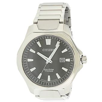 Citizen Eco-Drive Super titanio Mens Watch AW1540-88E