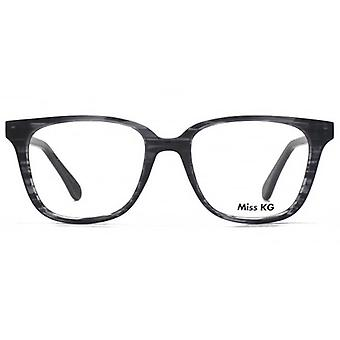 Miss KG Florrje Modern Square Brille In grau
