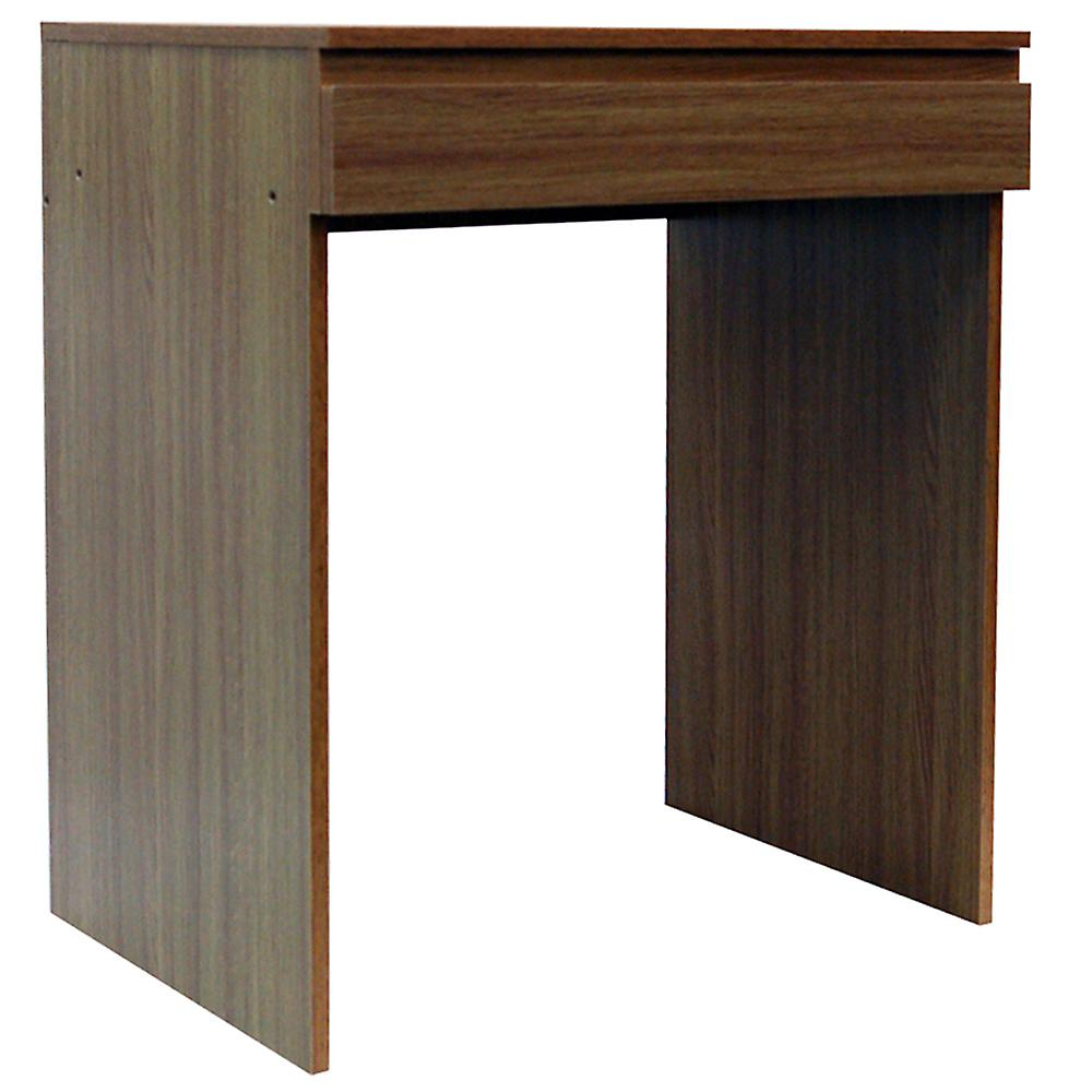 Tisch - Flip Top Office Desk / Workstation / Dressing Table - Oak