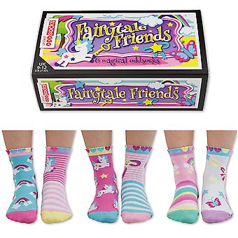 United Oddsocks Fairytale Friends Socks Gift Set For Little People