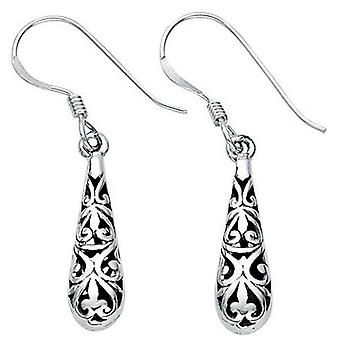 925 Silver Earring Oriental