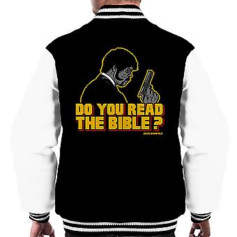 Shepherd Jules Winnfield Pulp Fiction mænds Varsity jakke