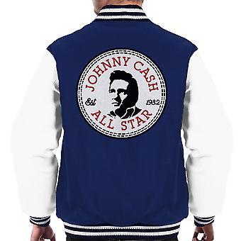 Johnny Cash Converse All Star mannen Varsity Jacket