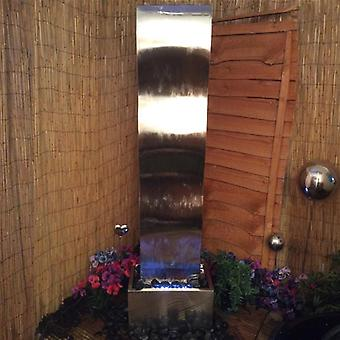 Westbury Giant Stainless Steel Wave Cascade Water Feature
