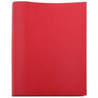 Coles Pen Company Sorrento Extra Large Leather Photo Album - Red