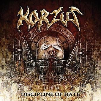 Korzus - Discipline of Hate [CD] USA import
