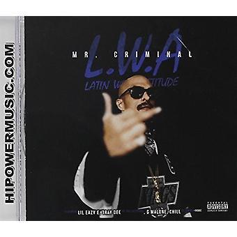 Mr. Criminal - L.W.a. [CD] USA import