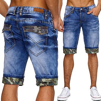 Men's jeans shorts camouflage of men's Shorts Pants summer Capri army boardroom