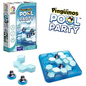 Smart Games Pinguins Pool Party (Toys , Boardgames , Logic And Ingenuity)