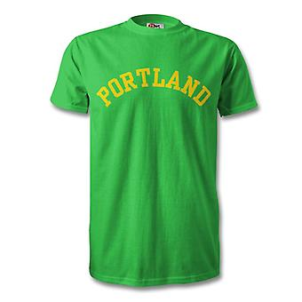 Portland College Style T-Shirt