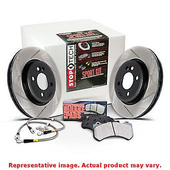 StopTech Sport Kits 977.44013F Front Fits:TOYOTA 1993 - 1998 SUPRA T 2JZGTE Fro