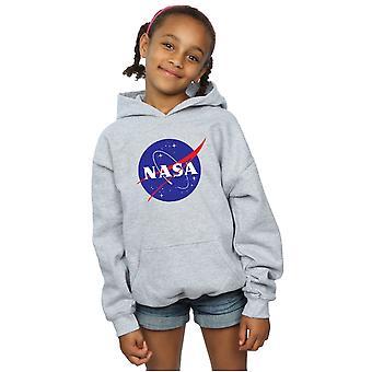 NASA Mädchen klassische Insignia Logo Hoodie