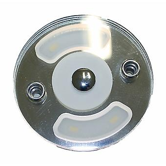 Dimatec Round Touch Switch 4 LED Caravan Ceiling Light