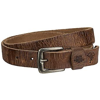 Billy the kid Jane of narrow leather belt with buckle M425-11