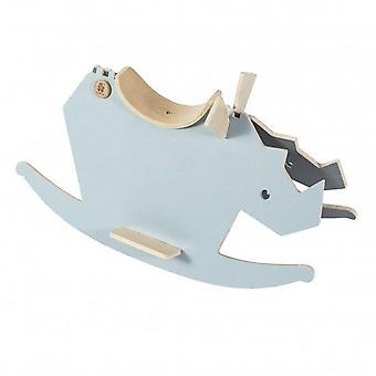 Sebra - Wooden Rockinghorse - I Rock - Cloud Blue/grey