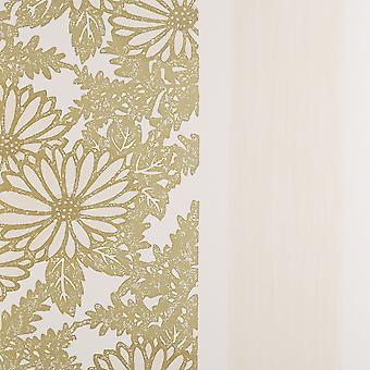 Designers Guild Cream & Gold Wallpaper Roll - Floral Ikebana Design - P458/06