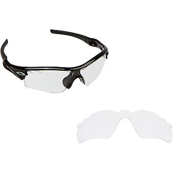 VENTED RADAR PATH Replacement Lenses Crystal Clear by SEEK fits OAKLEY