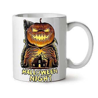 Jack Halloween Night NEW White Tea Coffee Ceramic Mug 11 oz   Wellcoda