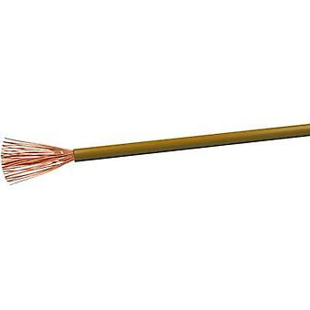 Flexible cable H05V-K 1 x 0.75 mm² Brown VOKA Kabelwerk