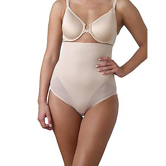 Miraclesuit Shapewear 2405 Women's Nude Solid Colour High Waist Brief