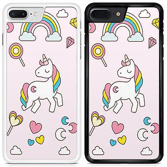 Unicorns Custom Designed Printed Phone Case For Samsung Galaxy J3 2017 / UN01 / White