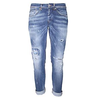 Dondup mens GEORGES32T Blau bomull jeans