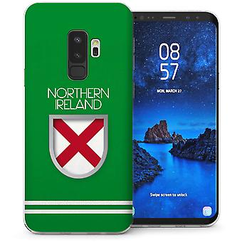 Samsung Galaxy S9 met Noord-Ierland World Cup TPU Gel koffer