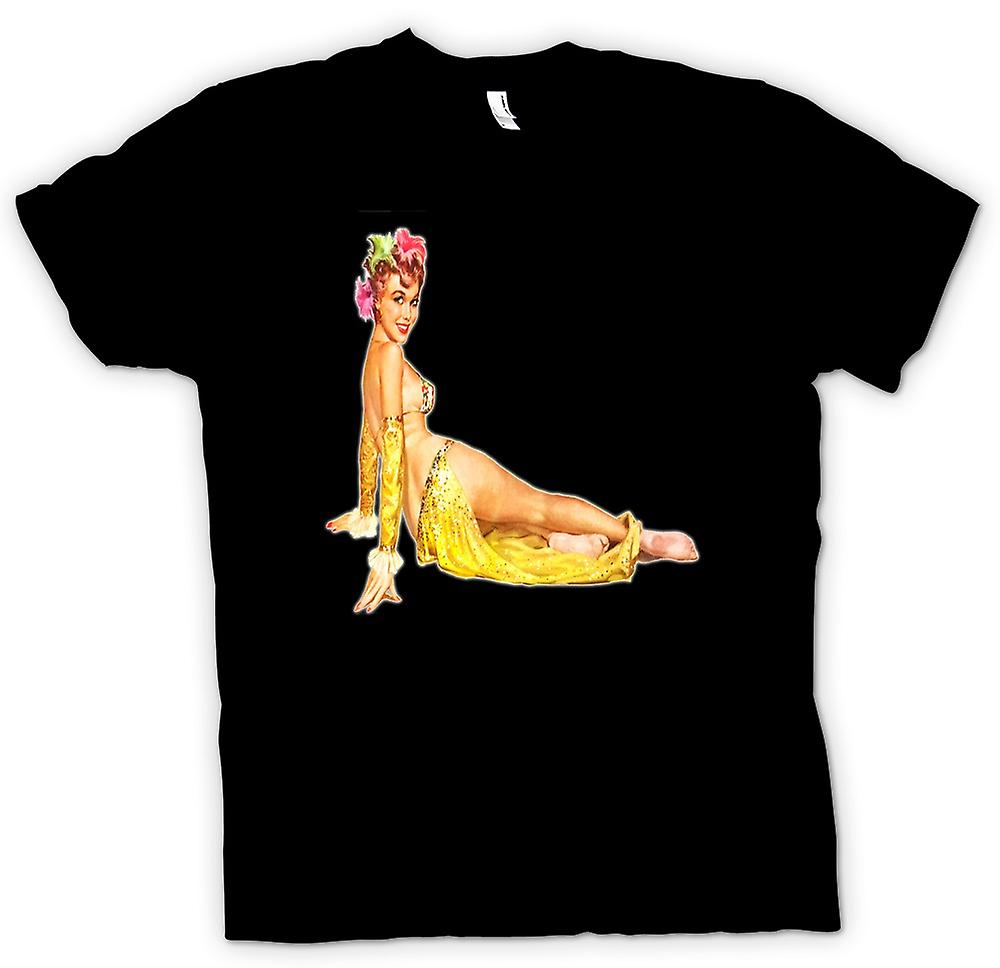 Herr T-shirt-September's Vintage Pinup