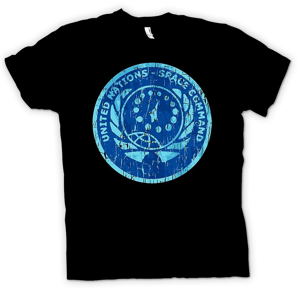 Hommes T-shirt - Space Command Nations Unies - Gamer