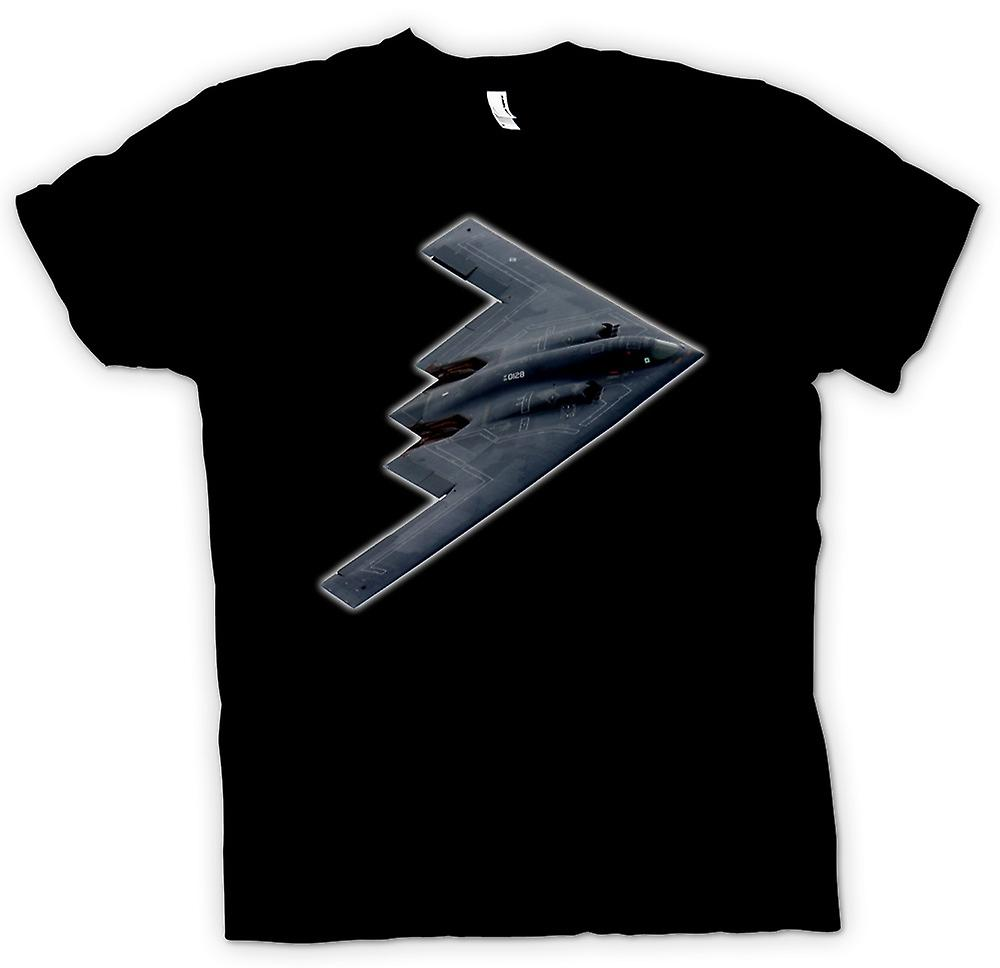 Womens T-shirt - Northrop Grumman B-2 Spirit - B2 Bomber