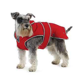 Ancol Stormguard Dog Coat Chest Protector Poppy