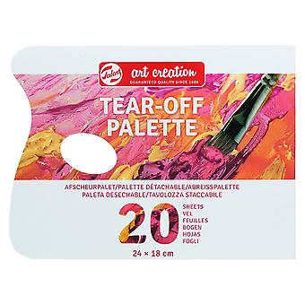 Talens Art Creation Tear-Off Palette (20 Sheets)